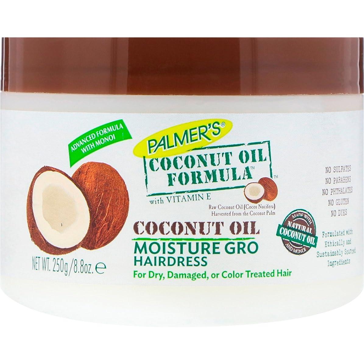 表現メトリック誰かパルマーズ ココナッツオイルしっとり輝きヘアクリーム 145ml (並行輸入品)
