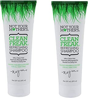 Not Your Mother's Clean Freak Refreshing Shampoo 8 oz. (Pack of 2)