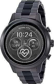 Michael Kors Women's Quartz Smartwatch smart Display and Stainless Steel Strap, MKT5058