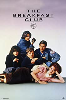 Trends International The Breakfast Club-One Sheet Wall Poster, 22.375