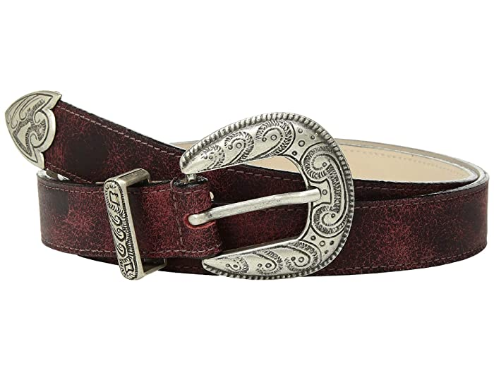Leatherock Clara Belt (Red) Women