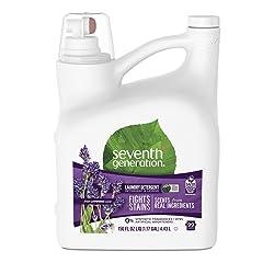 Seventh Generation Liquid Laundry Detergent, Fresh Lavender & Blue Eucalyptus scent, 150 oz, 99 Load