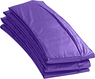 Upper Bounce Super Trampoline Replacement Safety Pad (Spring Cover) Fits Round 7.5' - 16' Frames   Outdoor Trampoline Pad   Water-Resistant   UV Protection   Safe Comes in Purple, Blue/Green, Green