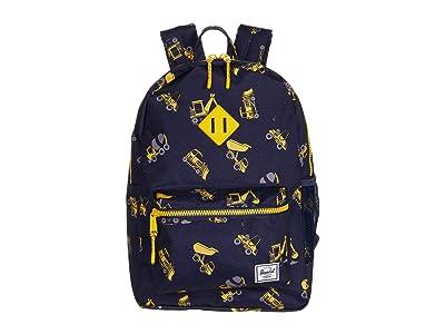 Herschel Supply Co. Kids Heritage XL Backpack (Little Kids/Big Kids) (Construction Zone) Backpack Bags