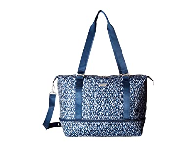 Baggallini Expandable Carry on Duffel (Blue Prism) Duffel Bags
