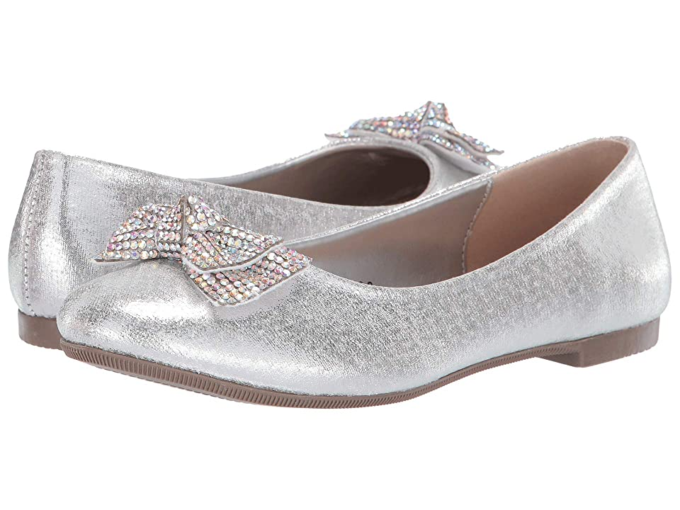 Kid Express Nessa (Toddler/Little Kid/Big Kid) (Silver Metallic) Girls Shoes