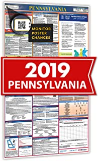 2019 Pennsylvania Spanish All In One Labor Law Posters for Workplace Compliance
