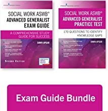 Social Work ASWB Advanced Generalist Exam Guide and Practice Test, Second Edition Set – A Comprehensive Study Guide and ASWB Practice Test Book with 170 Questions, Free Mobile and Web Access Included