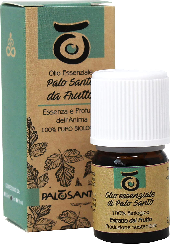 Aceite de Palo Santo - Extraído de la Fruta del Árbol de Bursera Graveolens - Aceite 100% Natural y Sostenible - Ideal para Aromaterapia - Paquete de 2.5 ml