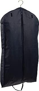 "Tuva Breathable Fur Coat/Suit/Dress Garment Bag 45"", Black Handles Tuva Inc."