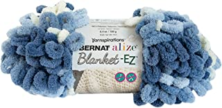 Bernat Alize Blanket-EZ Yarn, Denim Blues