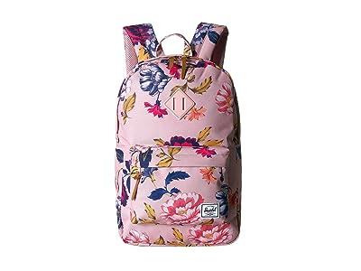 Herschel Supply Co. Heritage Mid-Volume (Winter Flora) Backpack Bags