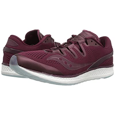 Saucony Freedom ISO (Burgundy) Athletic Shoes