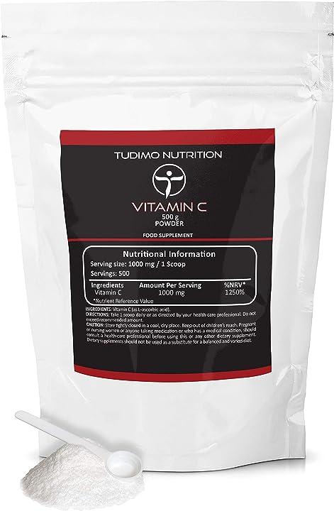 Vitamina c polvere 500 g C-PWD-1000