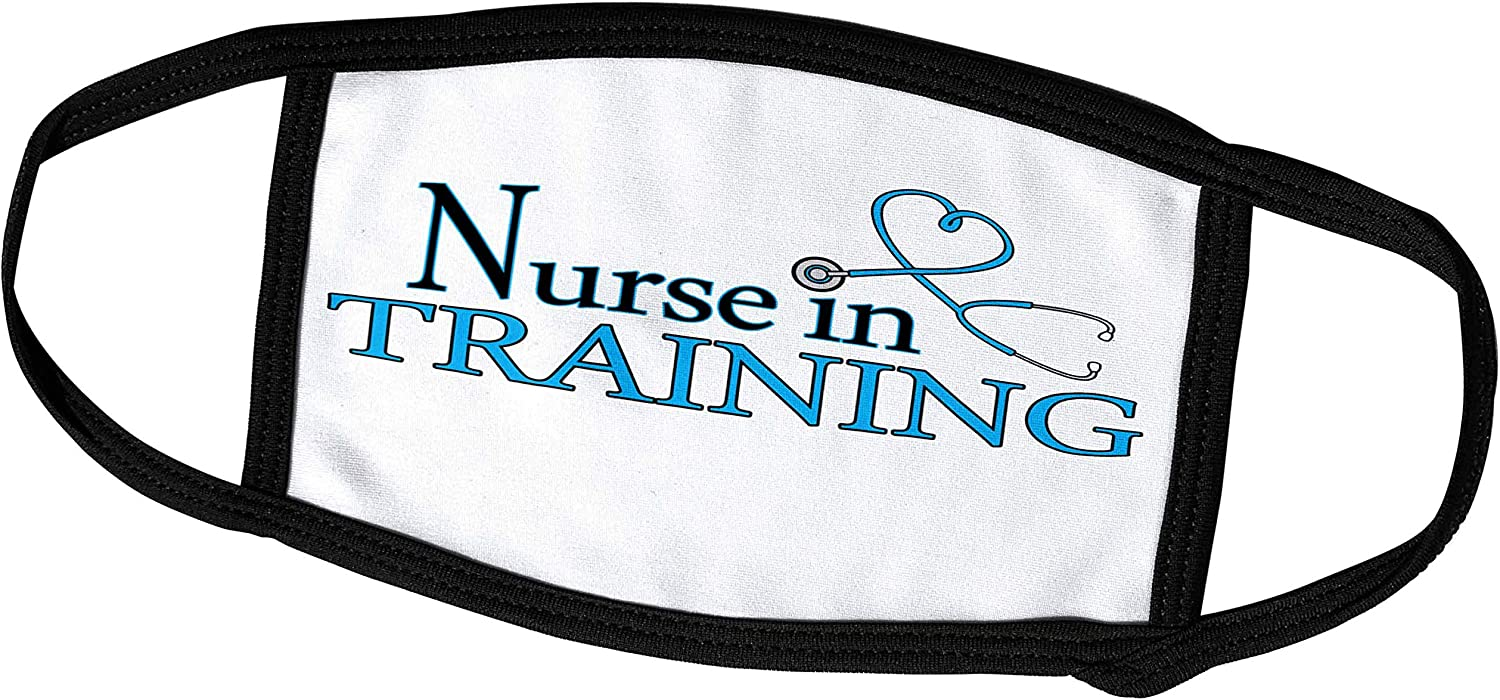 3dRose Nurse in Training Popular shop is the lowest price challenge Blue Heart Covers - Face Stethoscope Manufacturer direct delivery f