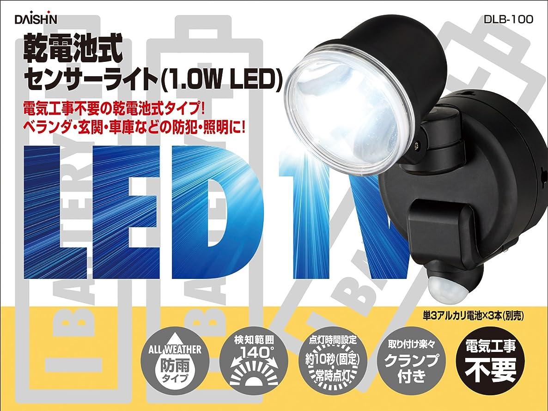 スピーカー授業料環境保護主義者乾電池式センサーライト(1.0W LED)