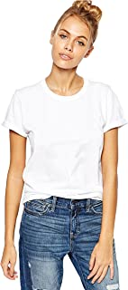 YOUNG TRENDZ Men's Cotton Solid White Tshirt (W-CNECK-White-XL)