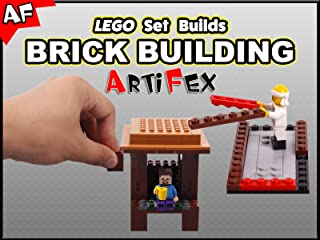 Clip: Lego Set Builds Brick Building - Artifex