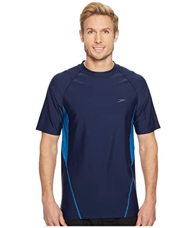 Speedo Fitness Rashguard (Speedo Navy) Men