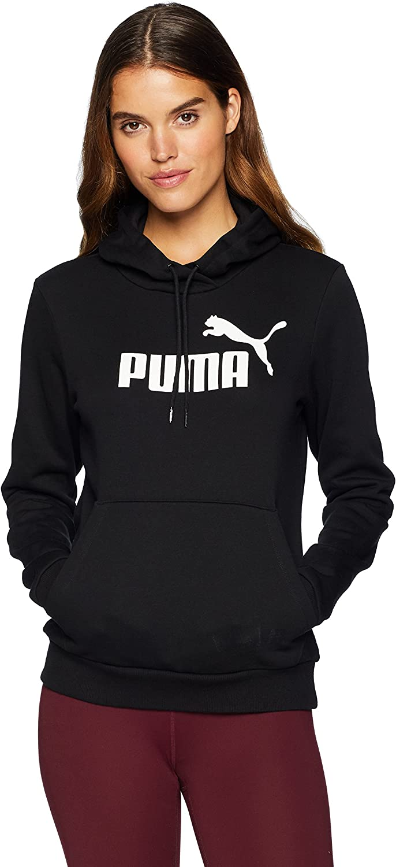 PUMA womens Essentials Fleece Hoodie