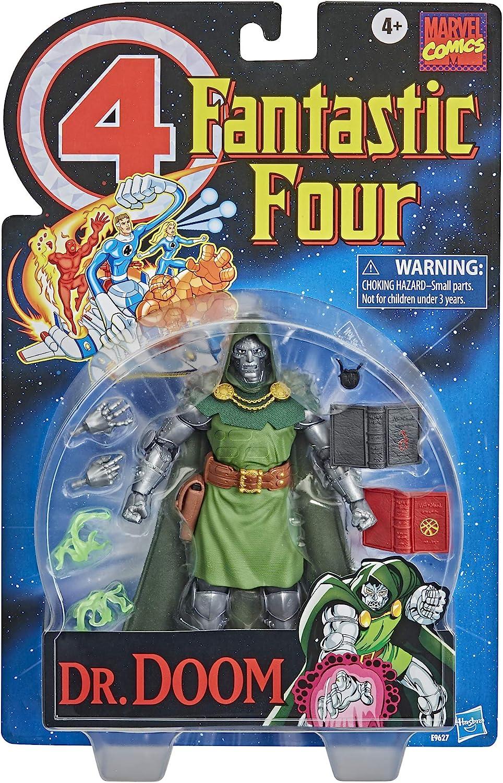 """Marvel Legends Retro DOCTOR DOOM Fantastic Four Vintage 6/"""" Dr Doom IN STOCK"""