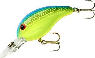 Bandit Crank 200-Series 2-Inch Chartreuse Blue Back 4 to 8-Feet Deep Bait