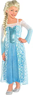 Disney Frozen Elsa Dress Costume Size 4 5 6 Small