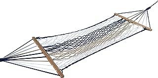 Hangit 3' Feet Wide Navy Cut UV Res Rope Hammock Swing   Ideal Cheap Gifts for Friends Boyfriend Girlfriend