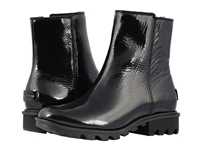 SOREL Phoenix Zip (Black Patent Leather) Women