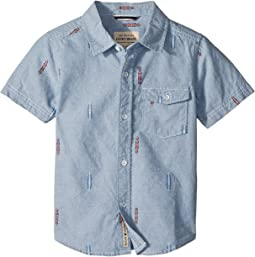 Lucky Brand Kids - Chambray Short Sleeve Shirt (Toddler)