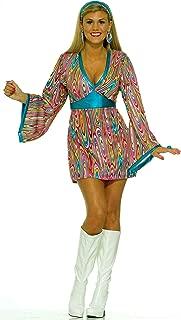 Forum Novelties Women's 60's Generation Mod Wild Swirl Costume Dress