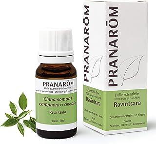 Pranarôm | Huile Essentielle Ravintsara | Cinnamomum camphora ct cinéole | Feuille | HECT | 10 ml