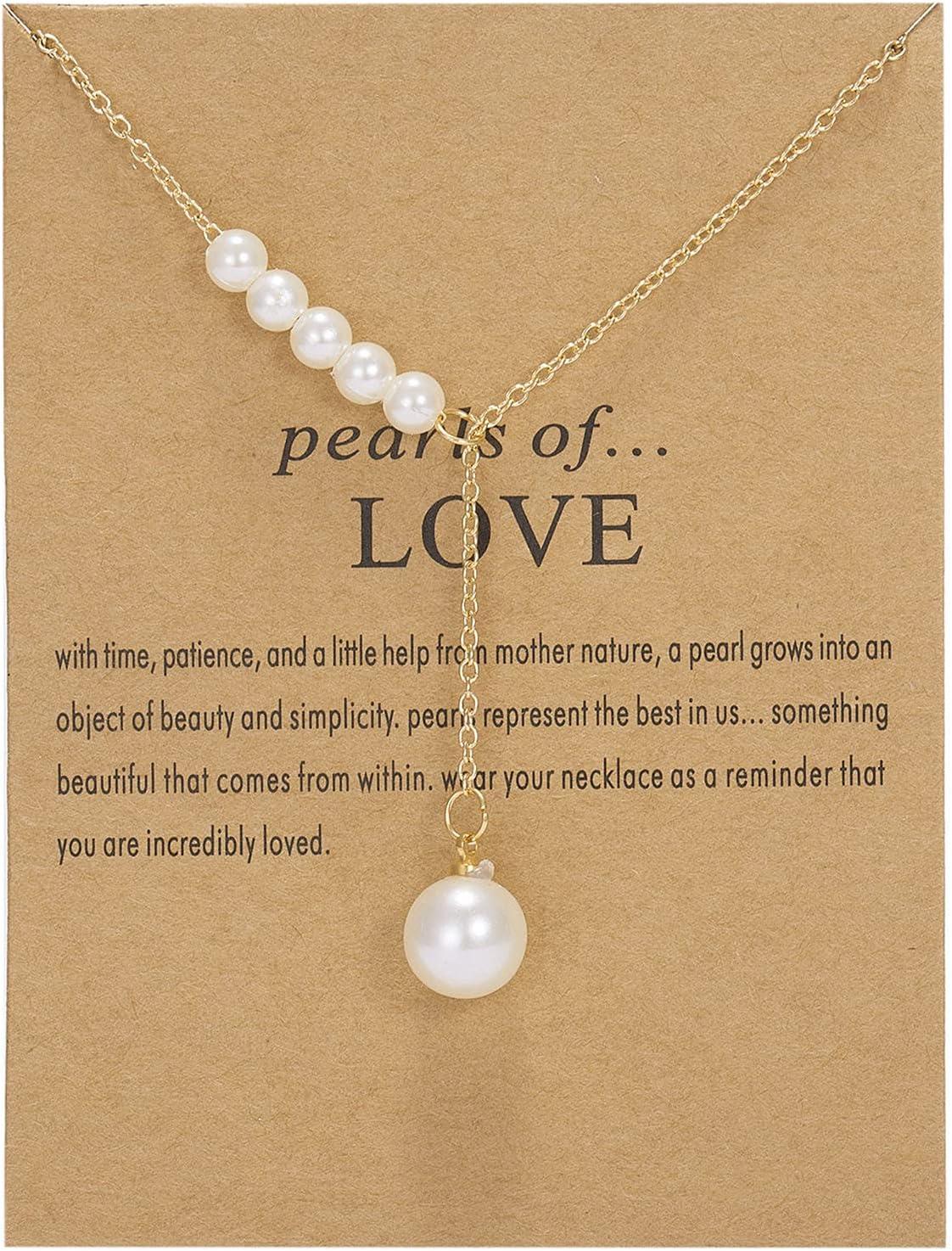 sfdeggtb Gold Necklaces for Women Friendship Necklaces Paper Card Necklaces Clavicle Necklaces Adjustable Moon Flower Pendant Chain Necklace (B)