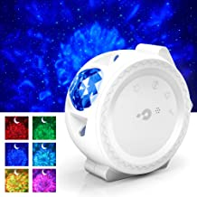 Star Night Light Projector, 3-1 LED Sky Projection Lamp Moon/Star/Cloud Touch&Voice Control Laser Christmas Projector Light for Kids, Bedrooms, Game Rooms, Home Theatre, Holidays, Party