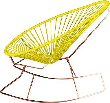 Innit Designs 15-04-03 Junior Acapulco Rocker, Yellow On Copper