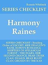 harmony raines book list