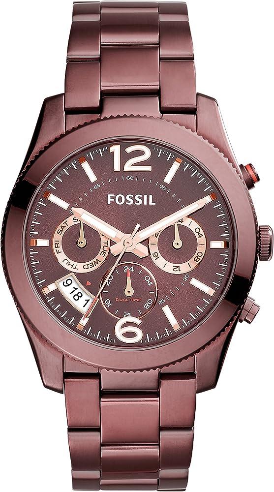 Fossil orologio donna con cinturino in acciaio inox ES4110