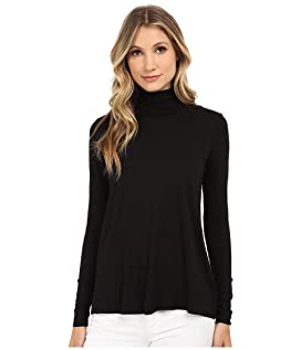 L/S Relaxed High Low Turtleneck
