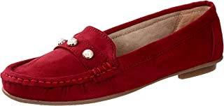 CatBird Womens and Girls Faux Leather Loafers,Casual Loafers,Casual Shoes,Walking Loafers,Lightweight Loafers and Dailywear Loafers