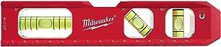 Milwaukee 4932459097 Billet Torpedo Level, Red/Black
