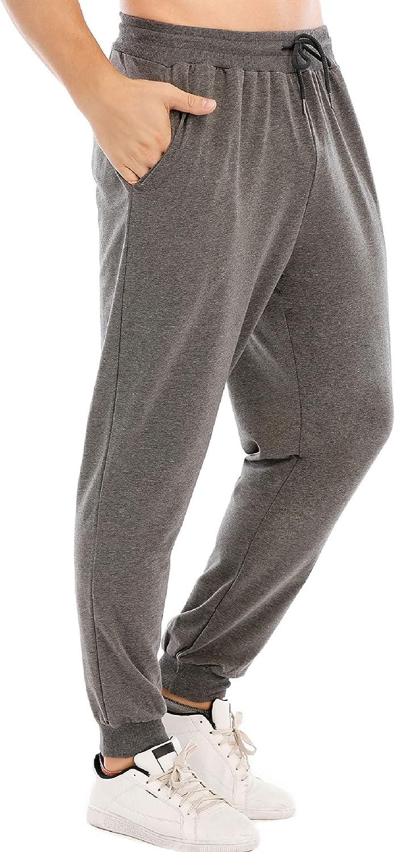 CMTOP Hombre Pants Pantalones Deportivos Largos Pantalones de Deporte para Ajustados Hombre Casuales Deporte Elásticos Joggers Largos Adecuado para Deportes Fitness