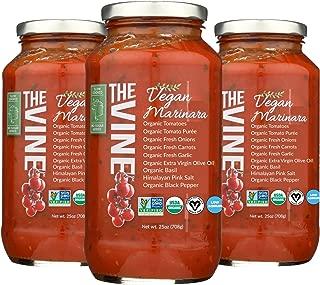 The Vine Organic Vegan Marinara, 3-pack
