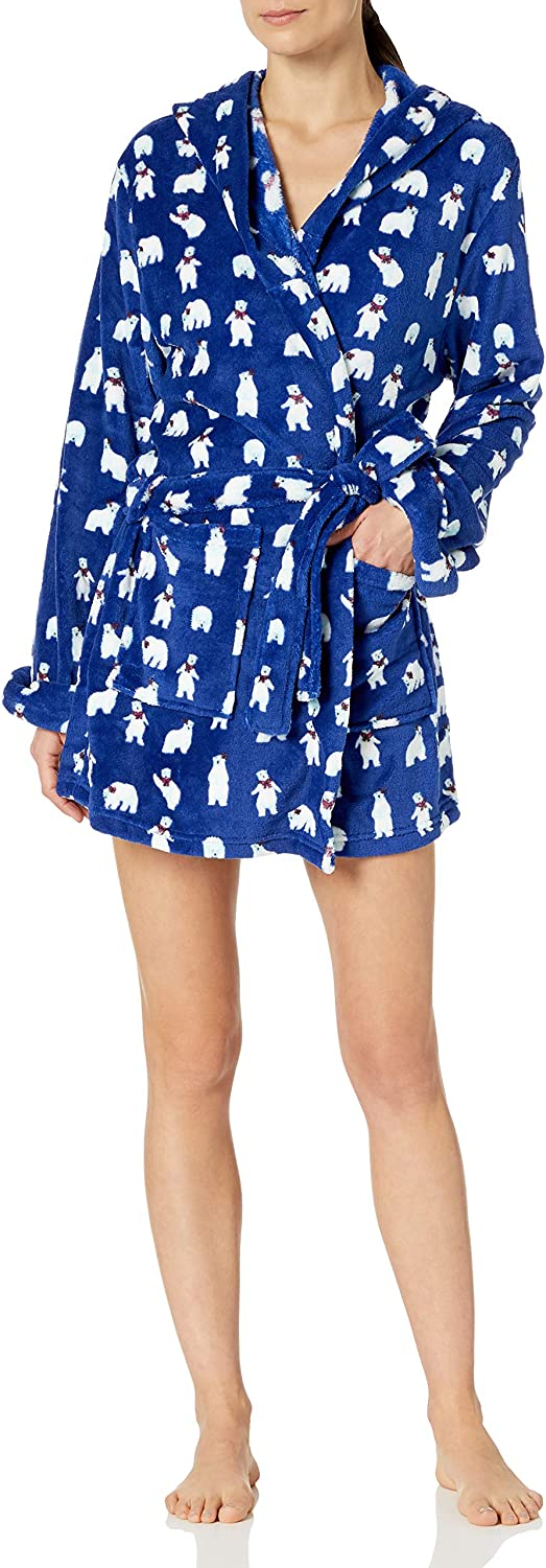 Bottoms Out Women's Plush Robe Max 64% OFF Cheap mail order sales Printed