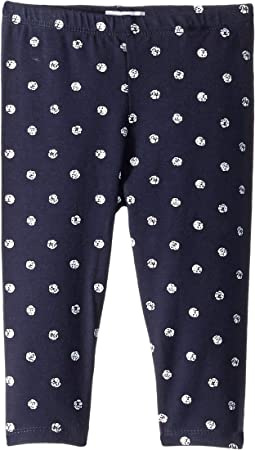 Dot Print Leggings (Infant)