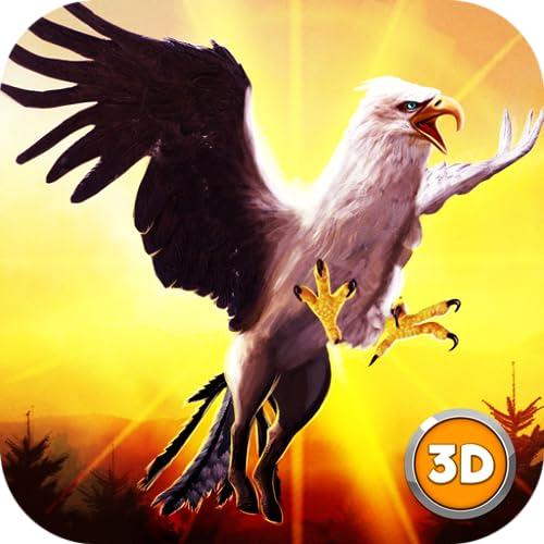 Hippogriff Bird Land Simulator 3D