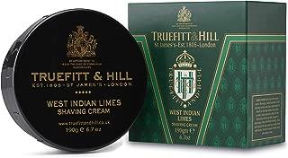 Truefitt & Hill Shaving Cream Bowl- West Indian Limes (6.7 ounces)