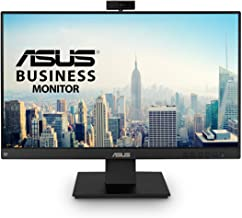 """ASUS BE24EQK 23.8"""" Business Monitor with Webcam, 1080P Full HD IPS, Eye Care, DisplayPort HDMI, Frameless, Built-in Adjust..."""
