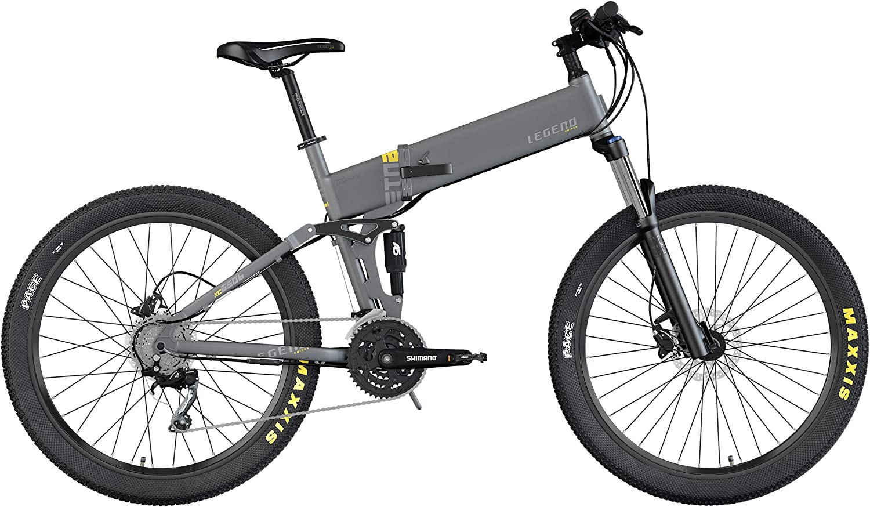 Legend ETNA Bicicleta Eléctrica de Montaña MTB