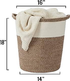 Best large blanket storage basket Reviews
