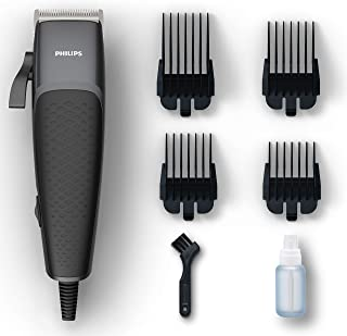 Philips HC3100/15 Series 3000 Head and Face Hair Clipper, Black